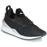 Cipők Női Rövid szárú edzőcipők Puma WN MUSE SATIN II.BLACK Fekete