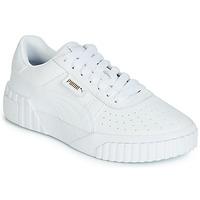 Cipők Női Rövid szárú edzőcipők Puma CALI Fehér
