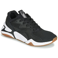 Cipők Női Rövid szárú edzőcipők Puma WN NOVA 90'S BLOC.BL-BL Fekete