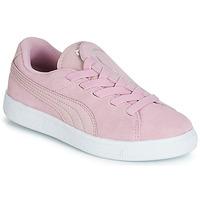 Cipők Lány Rövid szárú edzőcipők Puma PS SUEDE CRUSH AC.LILAC Lila