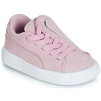 Cipők Lány Rövid szárú edzőcipők Puma INF SUEDE CRUSH AC.LILAC Lila