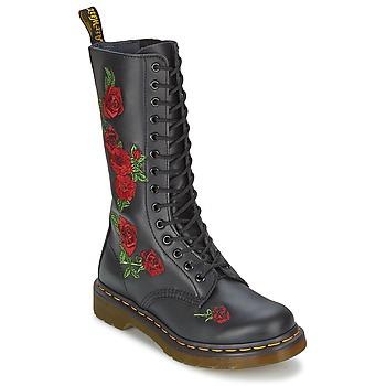 Cipők Női Városi csizmák Dr Martens VONDA Fekete
