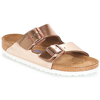 Cipők Női Papucsok Birkenstock ARIZONA SFB Arany
