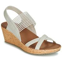 Cipők Női Szandálok / Saruk Skechers BEVERLEE Bézs