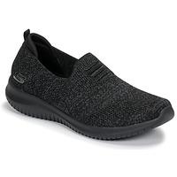 Cipők Női Belebújós cipők Skechers ULTRA FLEX Fekete