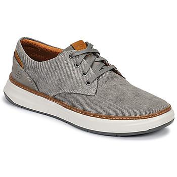 Cipők Férfi Rövid szárú edzőcipők Skechers MELFIS Szürke