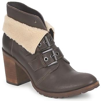 Shoes Női Bokacsizmák Un Matin d'Ete BRIAC Ébenfekete