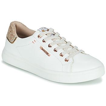Cipők Női Rövid szárú edzőcipők Dockers by Gerli 44MA201-594 Fehér