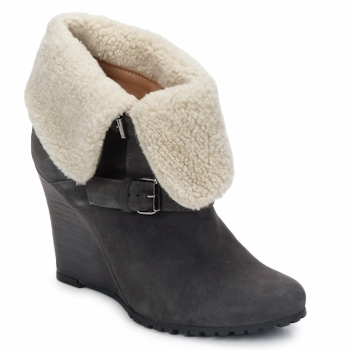 Shoes Női Bokacsizmák Atelier Voisin CARLA Szürke