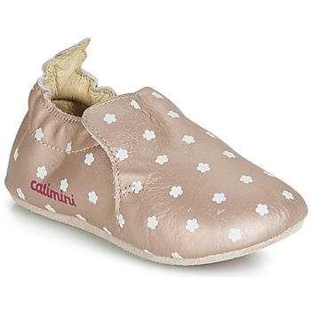 Cipők Lány Mamuszok Catimini CARA Rózsaszín / Arany