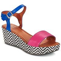 Cipők Női Szandálok / Saruk Betty London COQUETTE Fukszia / Kék