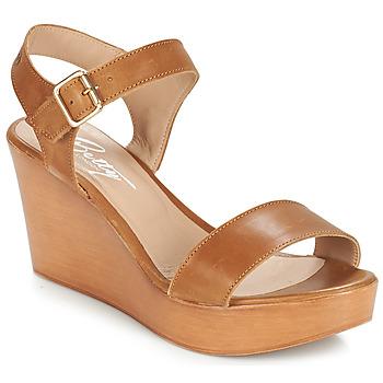 Cipők Női Szandálok / Saruk Betty London CHARLOTA Barna