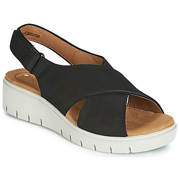 Cipők Női Szandálok / Saruk Clarks UN KARELY SUN Fekete