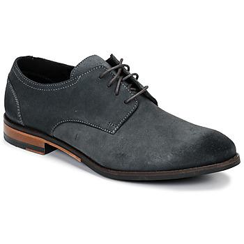 Cipők Férfi Oxford cipők Clarks FLOW PLAIN Szürke