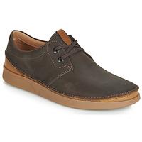 Cipők Férfi Oxford cipők Clarks OAKLAND LACE Barna