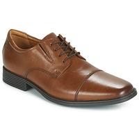 Cipők Férfi Oxford cipők Clarks TILDEN CAP Barna