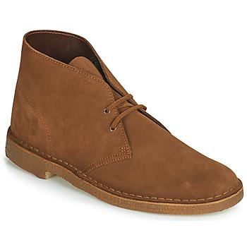 Cipők Férfi Csizmák Clarks Desert Boot Barna