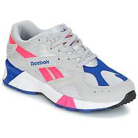 Cipők Rövid szárú edzőcipők Reebok Classic AZTREK Bézs / Kék