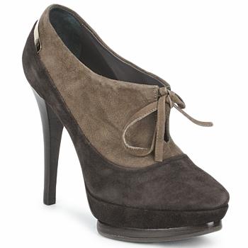 Cipők Női Bokacsizmák Alberto Gozzi CAMOSCIO ARATY Barna