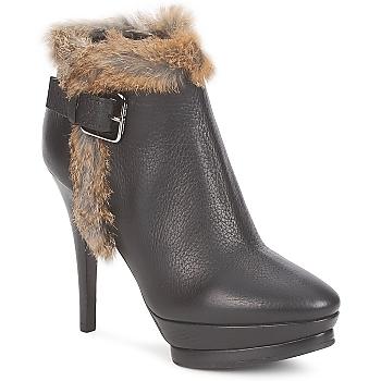 Shoes Női Bokacsizmák Alberto Gozzi BOTERO GADRO Fekete