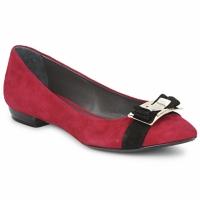 Cipők Női Balerina cipők  Alberto Gozzi CAMOSCIO RUBINO Piros