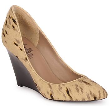 Cipők Női Félcipők Belle by Sigerson Morrison HAIRMIL Bézs / Fekete