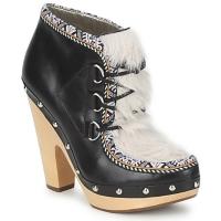 Cipők Női Bokacsizmák Belle by Sigerson Morrison BLACKA Bézs / Fekete