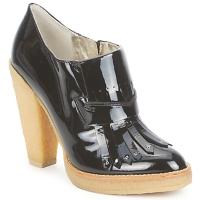 Cipők Női Bokacsizmák Belle by Sigerson Morrison SHEEP Fekete / Kő / Panna