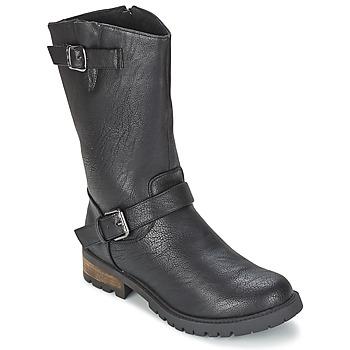Cipők Női Csizmák LPB Shoes ZOLA Fekete