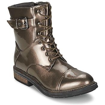 Cipők Női Csizmák Les P'tites Bombes STONE Ezüst