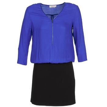 Ruhák Női Rövid ruhák Naf Naf KIMON DR Kék / Fekete