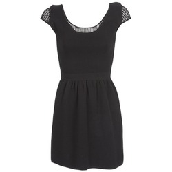 Ruhák Női Rövid ruhák Naf Naf MANGUILLA Fekete