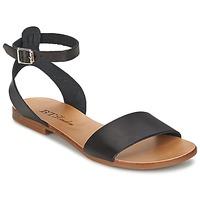 Shoes Női Szandálok / Saruk Betty London CRAROLA Fekete