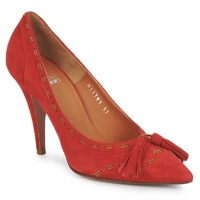 Cipők Női Félcipők Michel Perry CAMOSCIO Rubinvörös