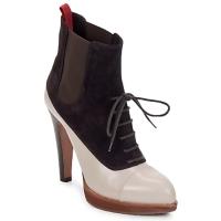 Shoes Női Bokacsizmák Michel Perry GLACELLE Por-Vad-Orchidea