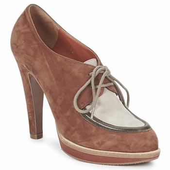 Shoes Női Bokacsizmák Michel Perry SADDLE Madras-Barna