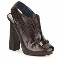 Cipők Női Bokacsizmák Pollini PA1617 Sötét-barna