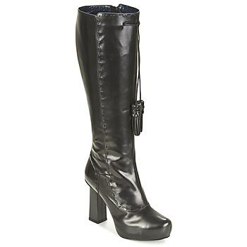 Cipők Női Városi csizmák Pollini PA2611 Fekete