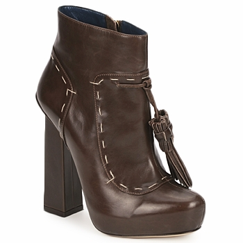 Cipők Női Bokacsizmák Pollini PA2405 Tmoro
