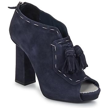 Shoes Női Bokacsizmák Pollini PA1620 Sötétkék