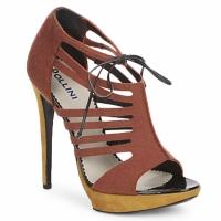 Cipők Női Szandálok / Saruk Pollini PA1602 Rozsda