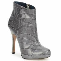 Cipők Női Bokacsizmák Pollini PA2115 Szmog