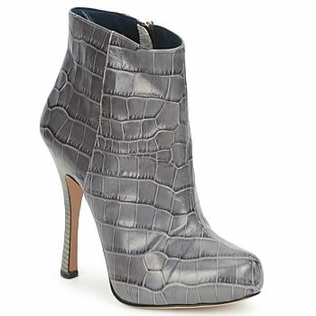 Shoes Női Bokacsizmák Pollini PA2115 Szmog