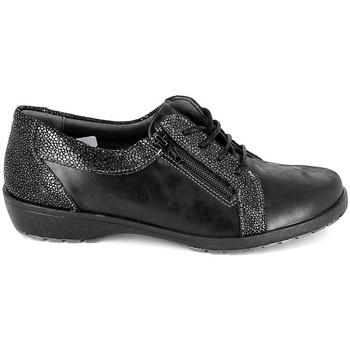 Cipők Női Oxford cipők Boissy Derby 80069 Noir Fekete