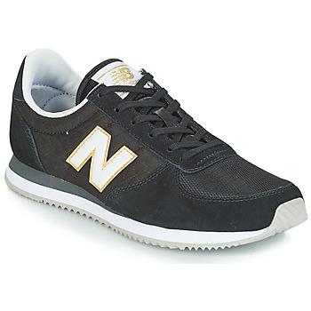 Cipők Női Rövid szárú edzőcipők New Balance WL220 Fekete