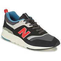 Cipők Rövid szárú edzőcipők New Balance CM997 Fekete