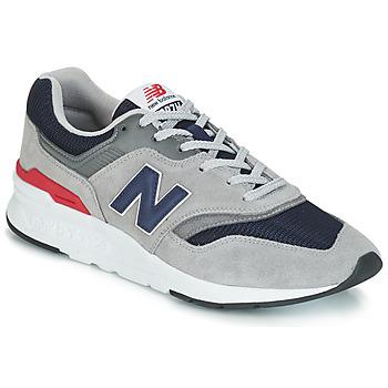 Cipők Rövid szárú edzőcipők New Balance CM997 Szürke