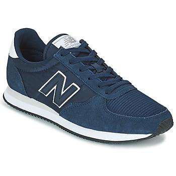 Cipők Rövid szárú edzőcipők New Balance U220 Kék