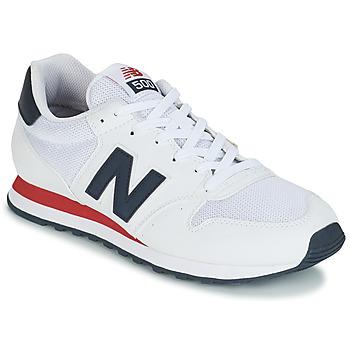 Cipők Férfi Rövid szárú edzőcipők New Balance GM500 Fehér