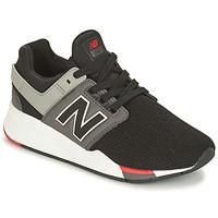 Cipők Fiú Rövid szárú edzőcipők New Balance GS247 Fekete